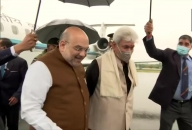 Amit Shah arrives in J&K with PM Modi's message of peace, love